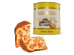 Panettone Havanna Lata Recheado de Doce de Leite 700g