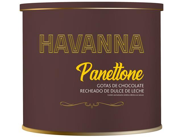 Combo Havanna 2 Panettones Lata Doce de Leite c/ Gotas de Choc. 700g   - 5