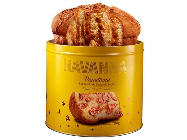 Combo Havanna Panettone Lata Doce de Leite + Gotas de Chocolate 700g - 7
