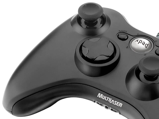 Controle Games Multilaser JS063 Dual Shock Xpad PC / XBOX 360 - 1