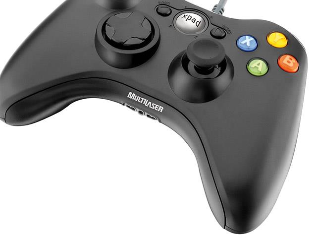 Controle Games Multilaser JS063 Dual Shock Xpad PC / XBOX 360 - 2