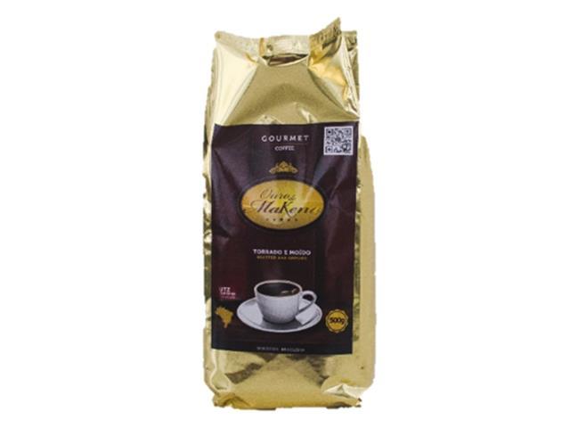 Café Ouro de Makena Torrado e Moído 500g