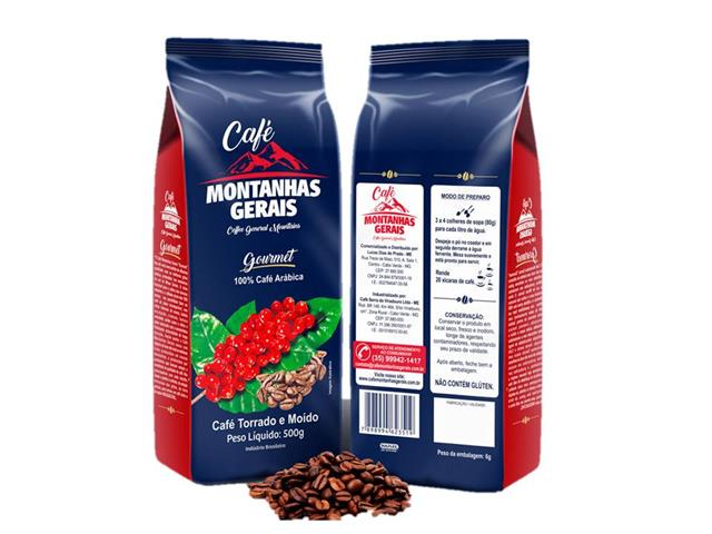 Café Montanhas Gerais Gourmet em Grãos 500g - 1