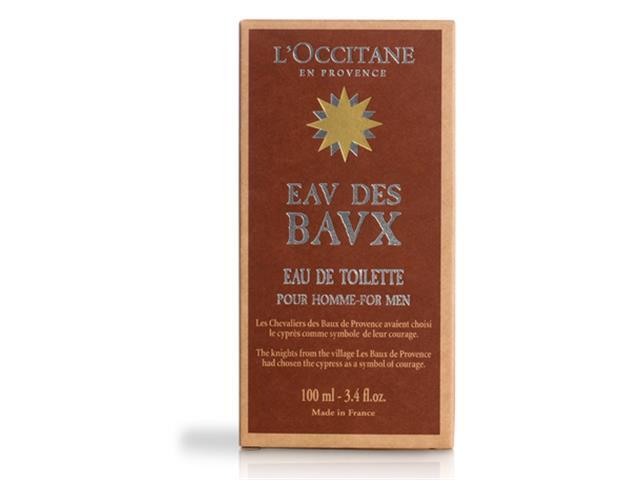 Perfume L'Occitane En Provence Eau De Toilette Eau De Baux 100mL - 1