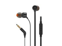 Fone de Ouvido JBL T210 In-Ear com Microfone Preto