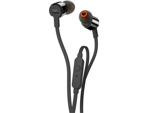 Fone de Ouvido JBL T210 In-Ear com Microfone Preto - 1