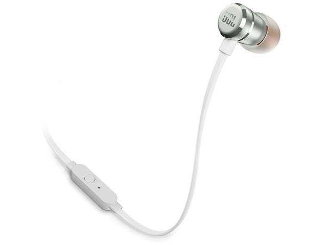 Fone de Ouvido JBL T290 In Ear Intra-Auricular Branco e Prata - 2