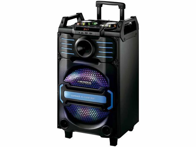 Caixa Amplificada Mondial Connect DJ Controller Bivolt