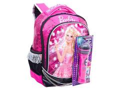 615ff0e2d Mochila Sestini Grande Barbie Rock N Royals Rosa