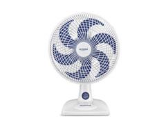 Ventilador de Mesa Mondial 30cm 3 Velocidades 6 Pás Branco e Azul 220V - 0