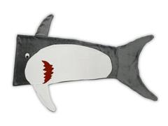 Manta Saco De Dormir Infantil Buettner Microfibra Tubarão Grafite