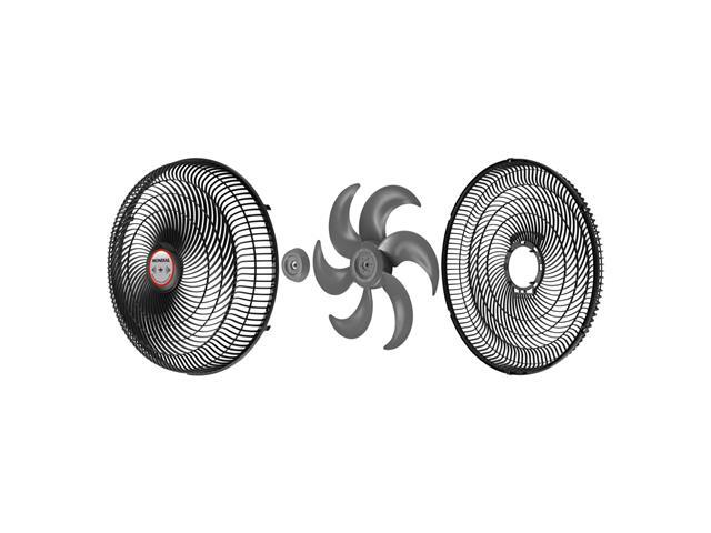 Ventilador de Mesa Mondial Turbo Tech Repelente Pastilha 40cm - 4