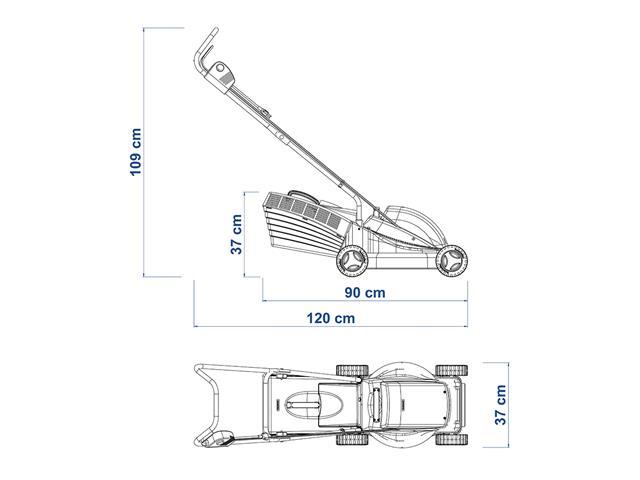 Cortador de Grama Elétrico Tramontina 1300W 110V - 2