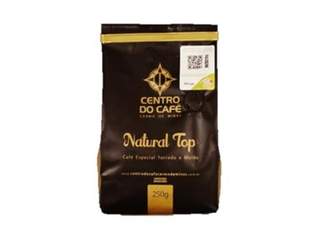 Café Centro do Café Natural Top Torrado e Moído 250g - 1