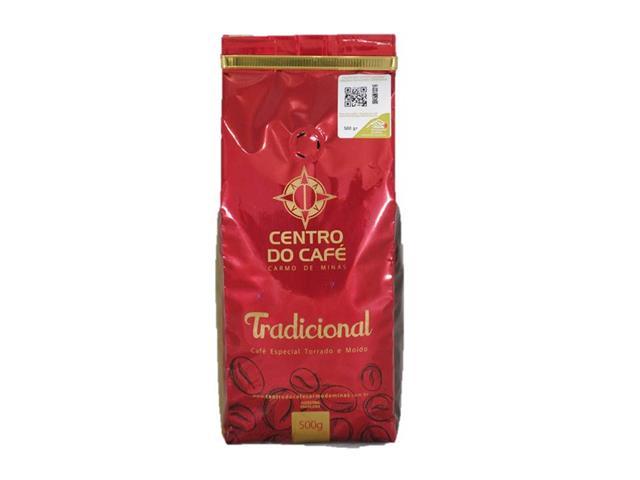 Café Centro do Café Tradicional Torrado e Moído 500g - 1