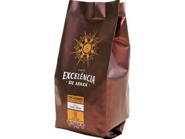Café Excelência de Araxá Gourmet Torrado em Grãos 250g