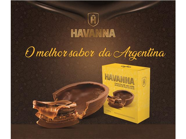 Ovo de Páscoa Havanna Ao Leite Recheado com Doce de Leite 300G - 4