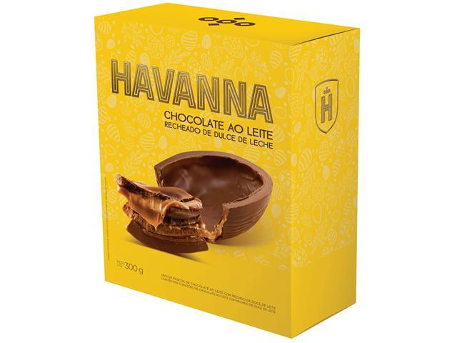Ovo de Páscoa Havanna Ao Leite Recheado com Doce de Leite 300G - 2