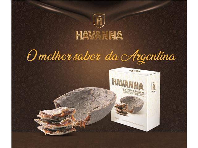 Ovo de Páscoa Havanna Branco com Limão Siciliano e Doce de Leite 300G - 3