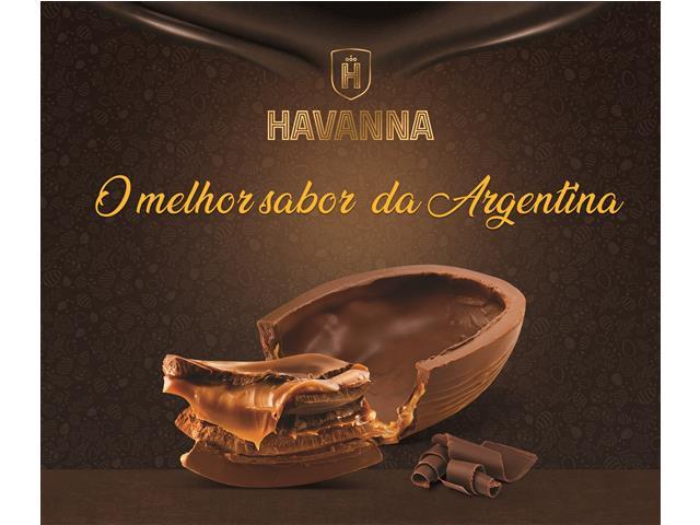 Combo Ovos de Páscoa Havanna Ao Leite Recheio Doce de Leite 300G 2 Uni - 4