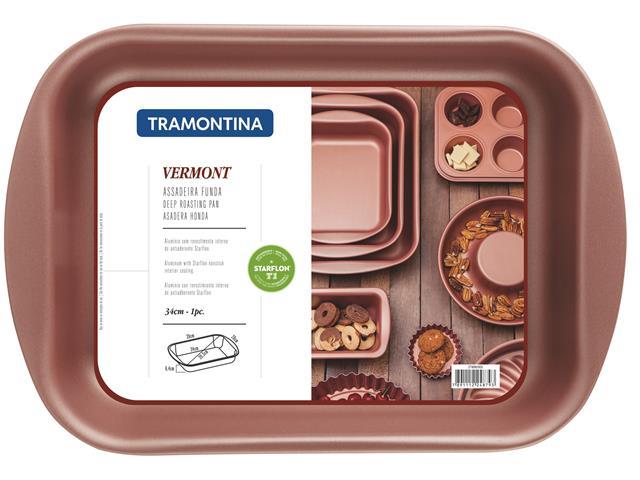 Assadeira Tramontina Vermont Funda Alumínio Ø 34cm - 1
