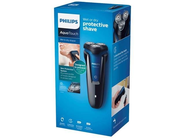 Barbeador Philips AquaTouch com 3 Cabeças de Corte S1030/04 Bivolt - 4