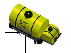 Máq. Drop cap. 320 l Controle Elétrico Bomba elétrica - 0