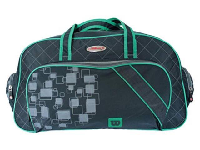 Bolsa Esportiva Wilson IS13779C Cinza e Verde - 1