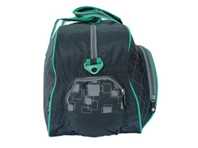 Bolsa Esportiva Wilson IS13779C Cinza e Verde - 2