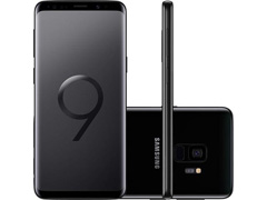 "Smartphone Samsung Galaxy S9 4G Dual Chip Tela 5.8"" 128GB 12MP Preto"