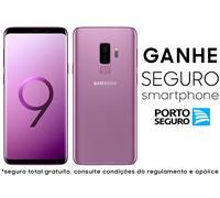 "Smartphone Samsung Galaxy S9+ 4G Duos Tela 6.2""128GB 12MP Ultravioleta"