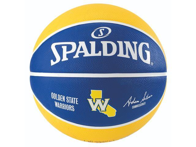 Bola de Basquete Spalding NBA Golden State Warriors Tamanho 7 - 1
