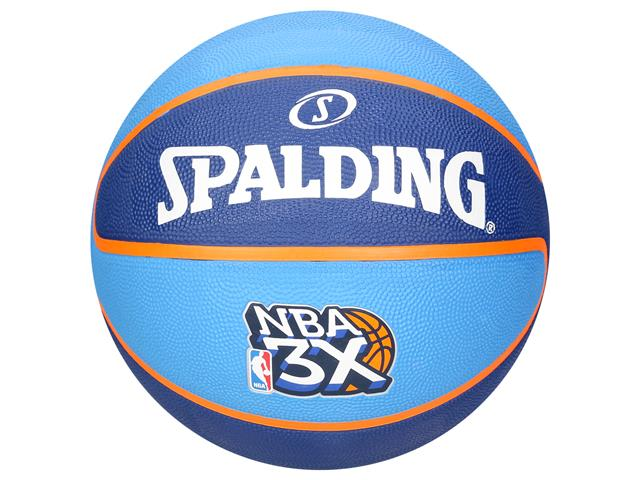 Bola de Basquete Spalding NBA 3x Tamanho 7 Azul 9812118ab7b3c
