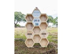 Hotel para abelhas solitárias - 0