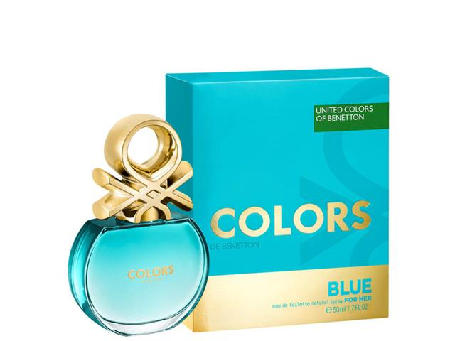 Perfume Colors Blue Benetton Feminino Eau de Toilette 50ml - 1