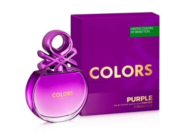 Perfume Colors Purple Benetton Feminino Eau de Toilette 50ml - 1