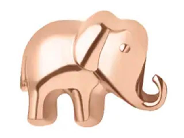Berloque Vivara Life Elefante Rosé
