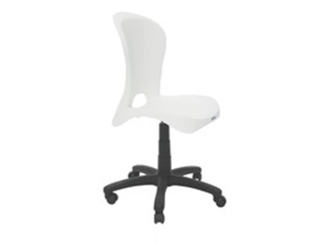 Cadeira Tramontina Rodizio Jolie Branca - 1