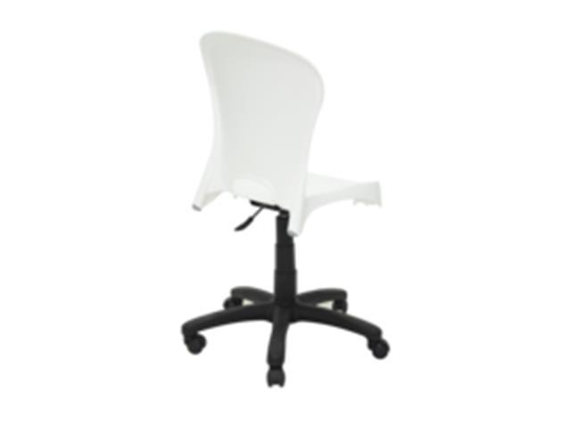 Cadeira Tramontina Rodizio Jolie Branca - 3