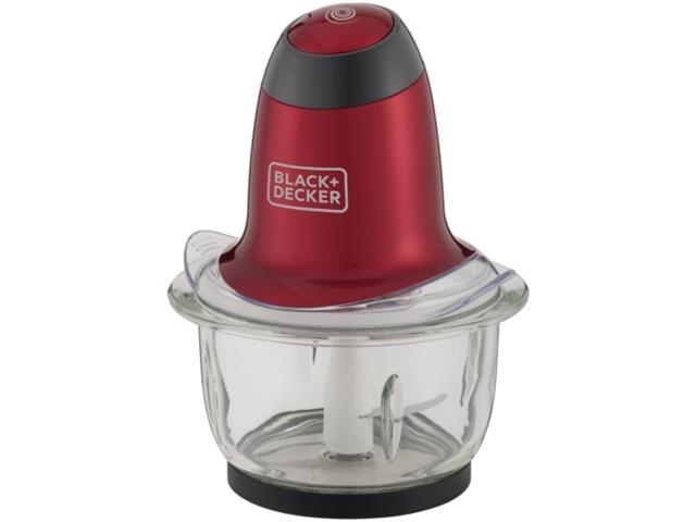 Miniprocessador Black&Decker Gift  200W Vermelho - 1