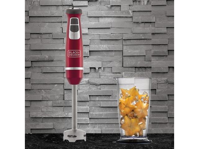 Mixer Vertical 2 Velocidades Black&Decker 600W Vermelho - 5