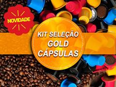 Kit seleção Gold capsulas - 5