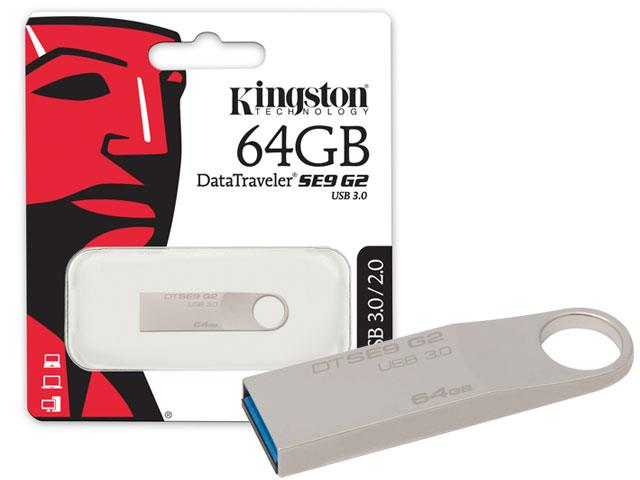 Pen Drive Kingston USB 3.0 DTSE9G 64GB - 3
