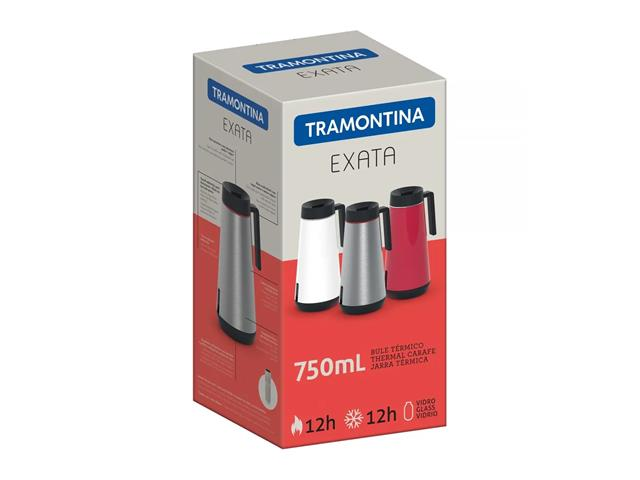 Bule Térmico Tramontina Exata Vermelho 750mL - 2