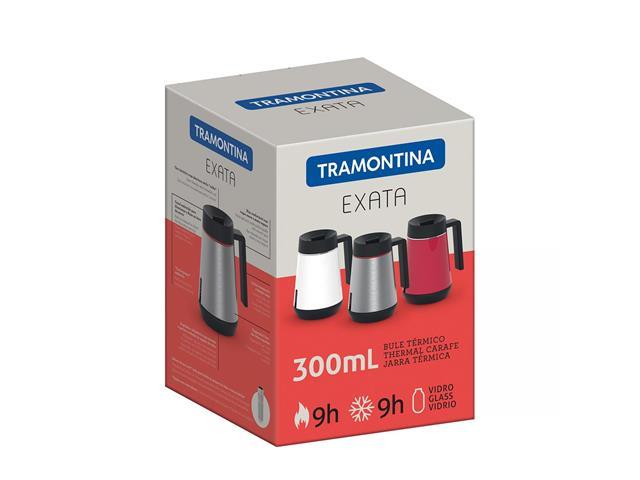 Bule Térmico Exata Tramontina com Infusor Branco 300mL - 2