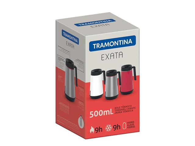 Bule Térmico Exata Tramontina com Infusor Branco 500mL - 2