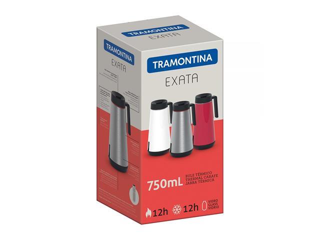 Bule Térmico Exata Tramontina com Infusor Vermelho 750mL - 2