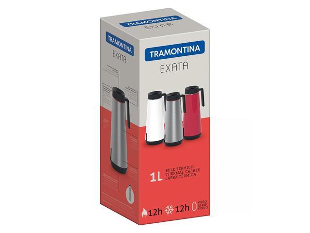 Bule Térmico Exata Tramontina com Infusor Inox 1 Litro - 3