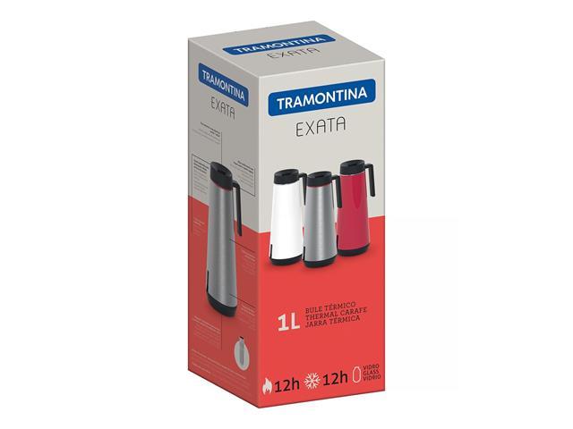 Bule Térmico Exata Tramontina com Infusor Branco 1 Litro - 2