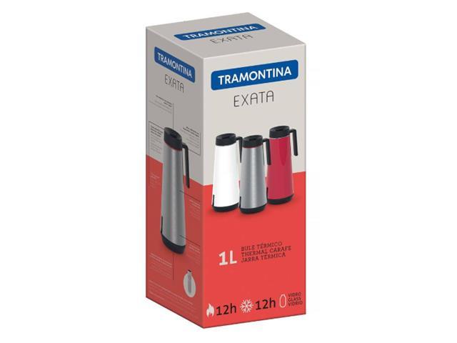 Bule Térmico Exata Tramontina com Infusor Vermelho 1 Litro - 2